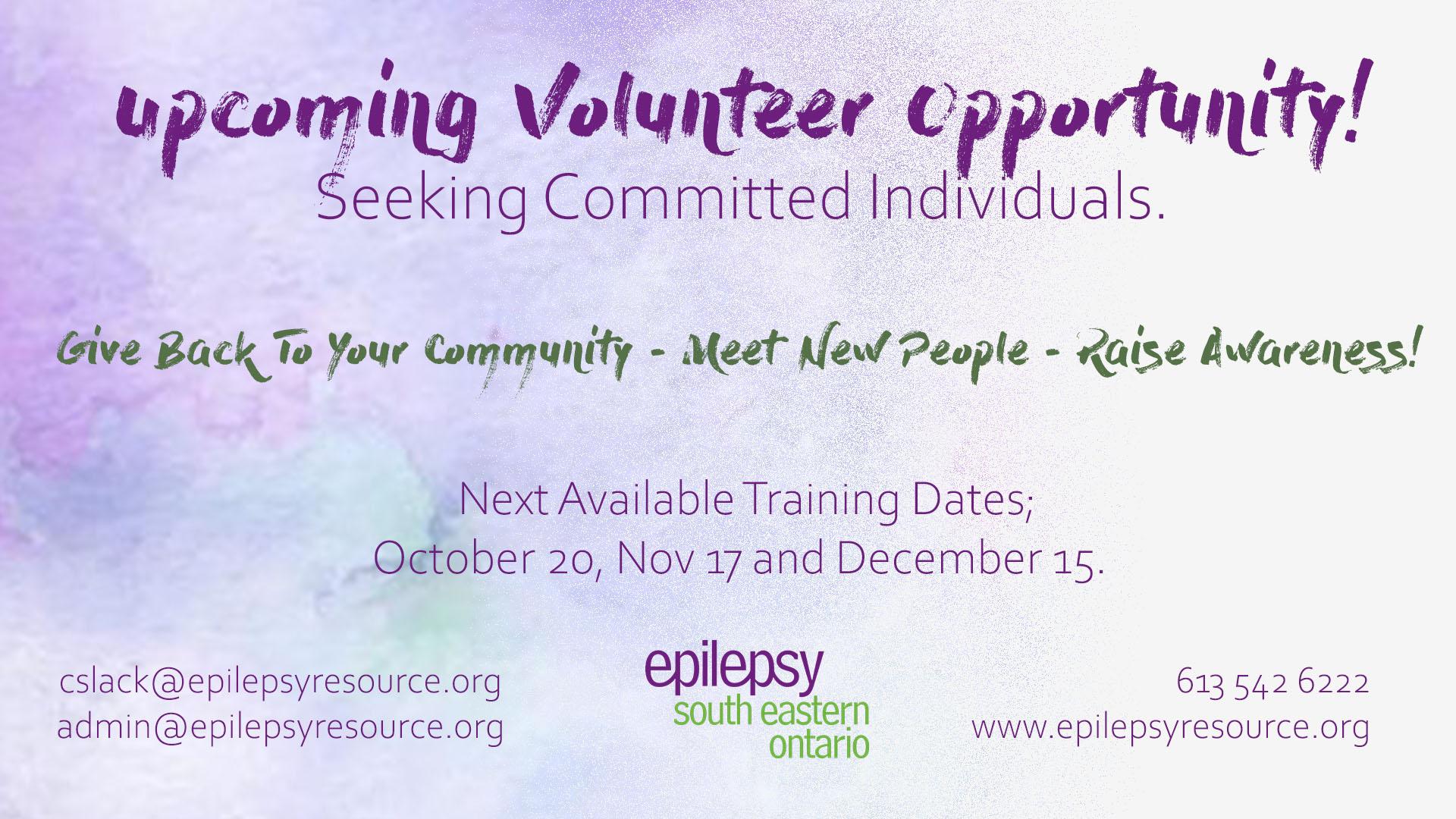 Volunteer Poster.