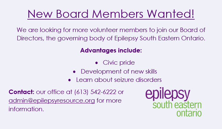 New board members needed for the board of directors